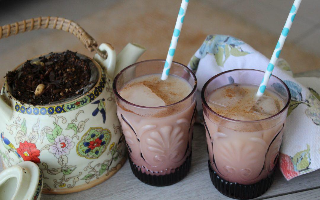 Iced chai lattes