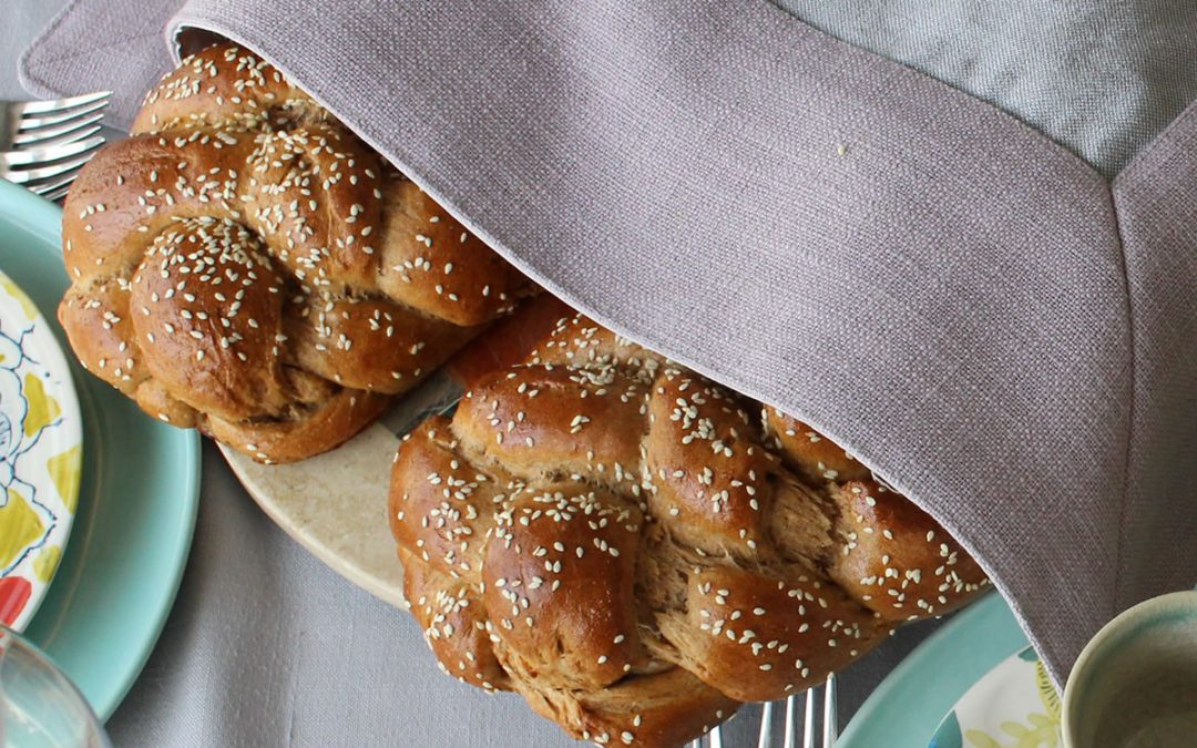 Delicious Whole-wheat Challah
