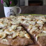 goat-cheese-honey-almond-peach-whole-wheat-pizza