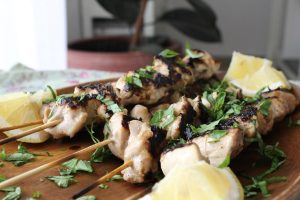 wine-chicken-skewers-lemon-basil
