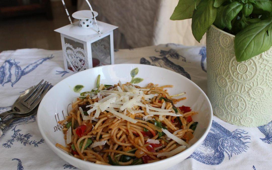 Italian whole wheat pasta