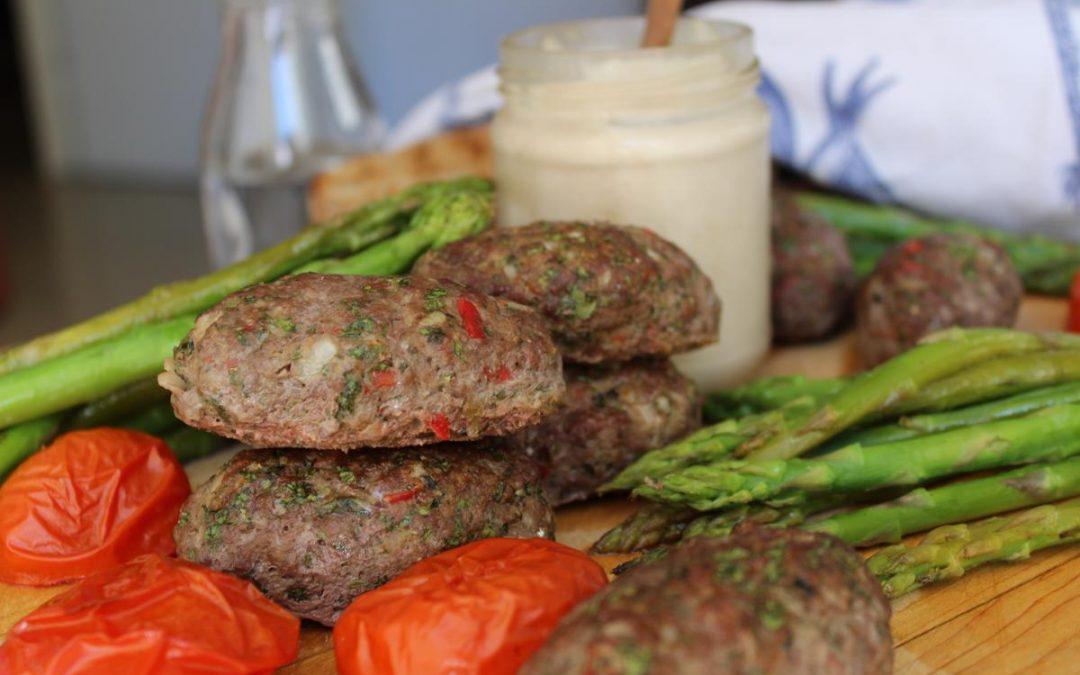 Kofta meat kebabs