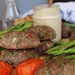 koftas-beef-lamb-kebabs-asparagus