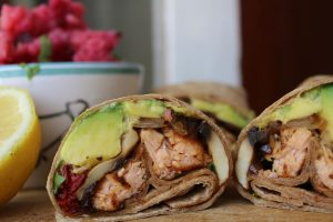 salmon-avocado-wraps