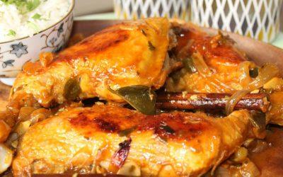 Thai glazed chicken and rice
