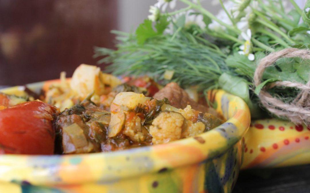 Minestrone beef stew