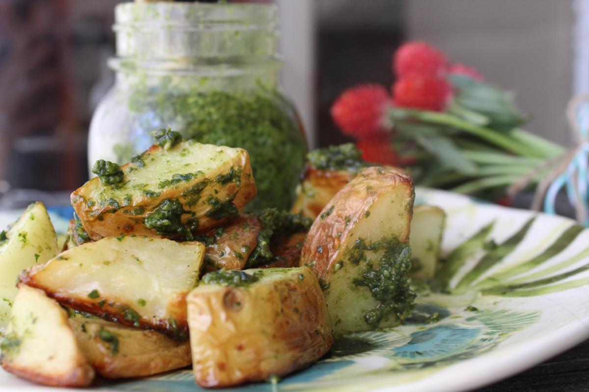 pesto-potatoes-roasted