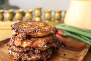 butternut-squash-chili-scallion-bulgarian-cheese-latkes