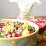 couscous-pomoogranates-chives-salad