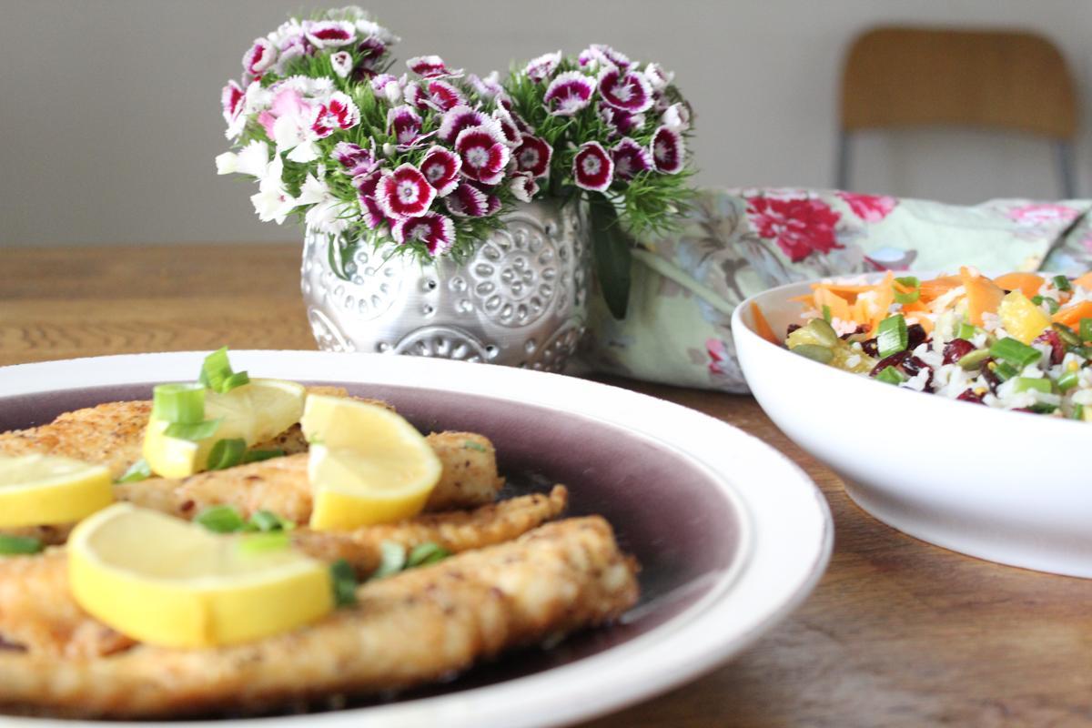 fish-sticks-rice-salad