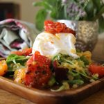 poached-egg-lentil-salad