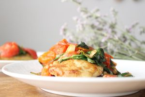 sauted-spinach-chicken
