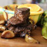 steak-tips-edamame
