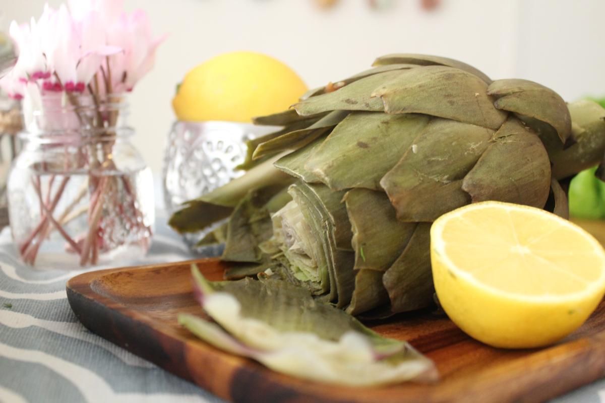 artichokes-lemon