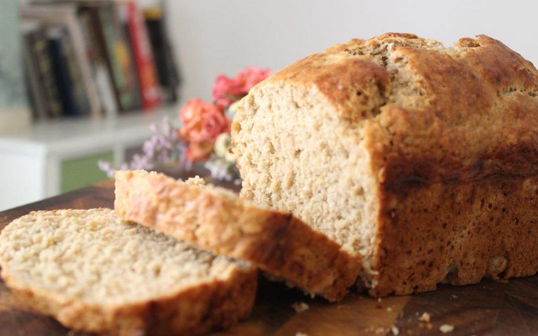 Whole wheat honey beer bread