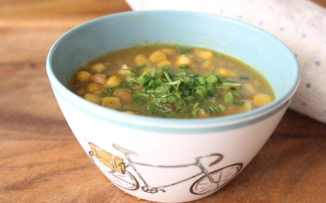Fish corn chowder