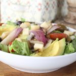 grilled-onion-lemon-avocado-salad