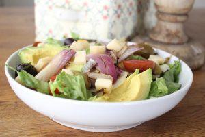 Sweet lemon grilled onion salad