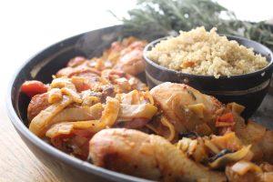 rosemary-drumsticks-quinoa