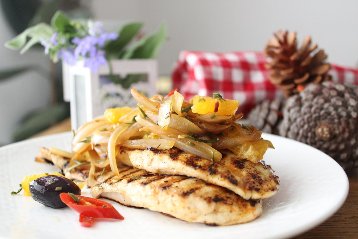 chicken-crunchy-onion-olive-topping