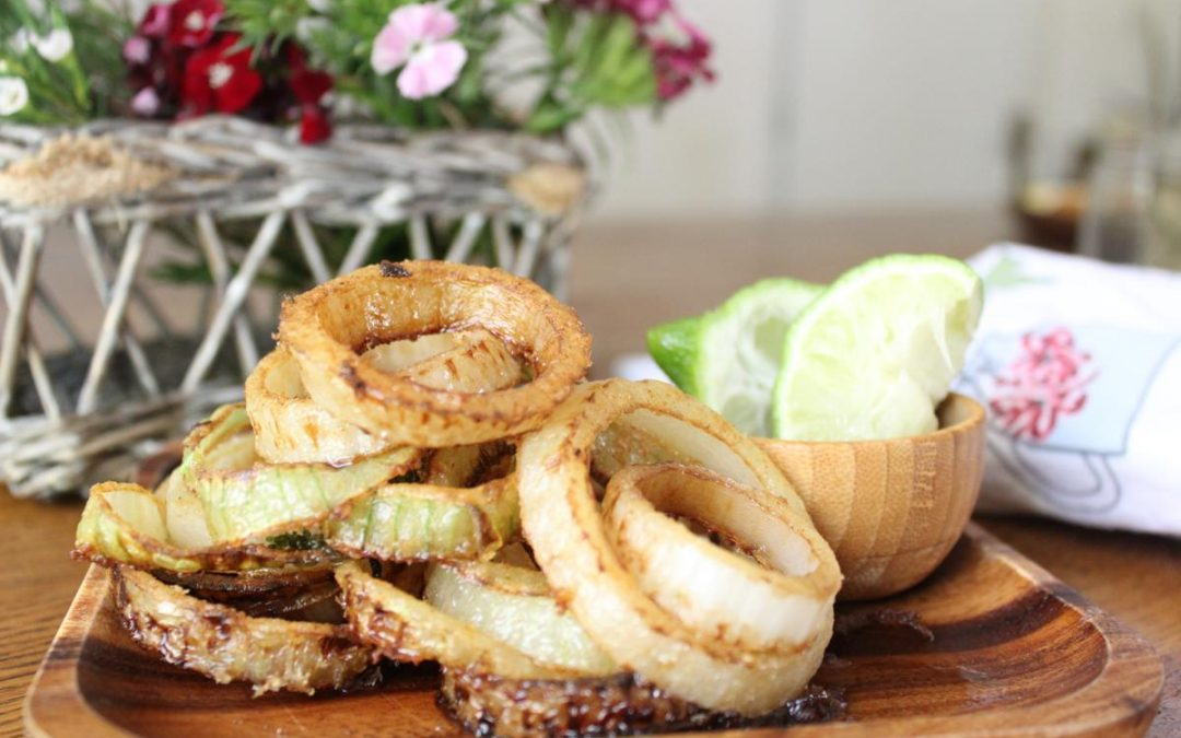 Gluten free vegan onion rings