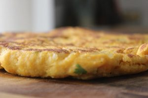 Indian-sweet-potato-flat-bread