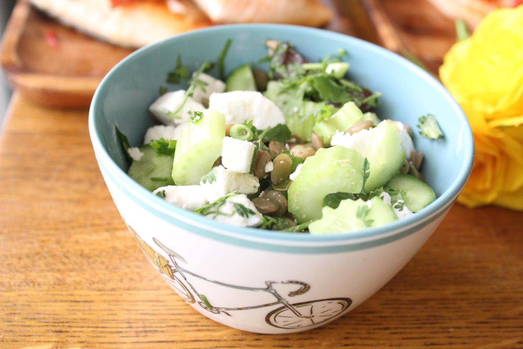 lentil-feta-salad