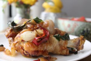 shallot-basil-chicken