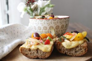 spicy-grilled-cheese-quinoa-salad