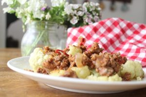 cauliflower-meat-sauce